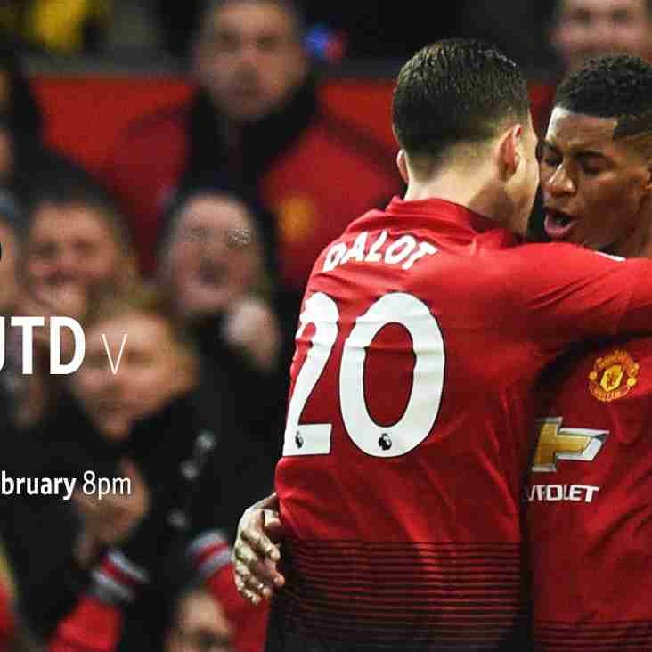 MANCHESTER UNITED v PSG - LIVE IN THE CLUBHOUSE.