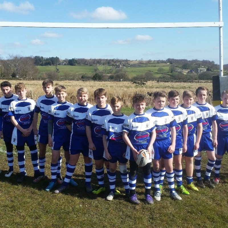 U15 beat Guiseley Rangers 40 - 18