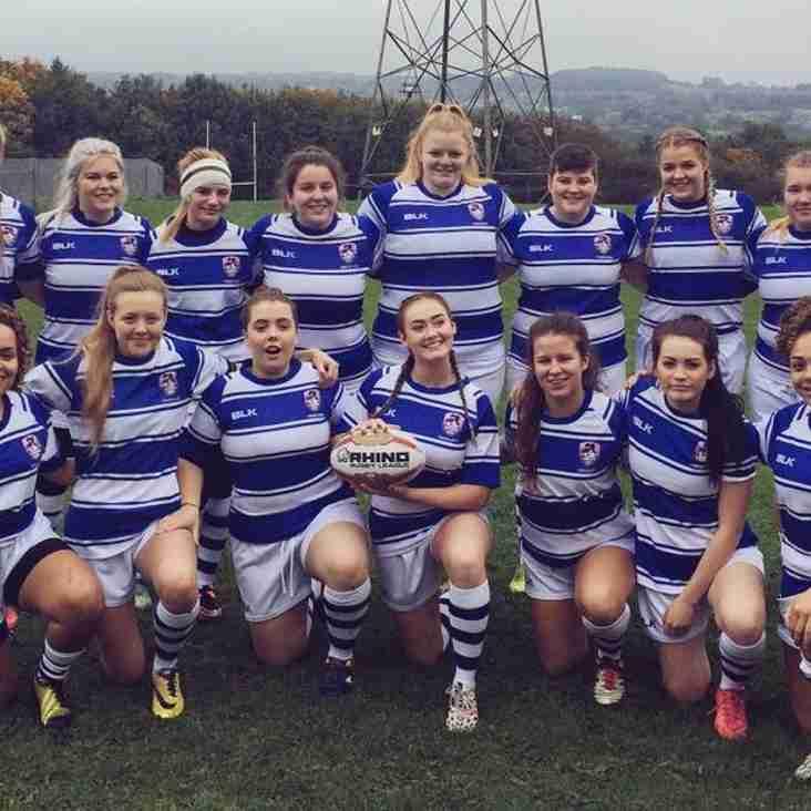 Queensbury Girls Represent Yorkshire