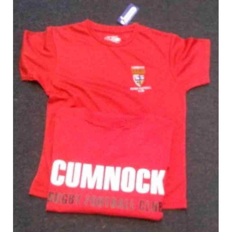 Kids Poly Cumnock t-shirt