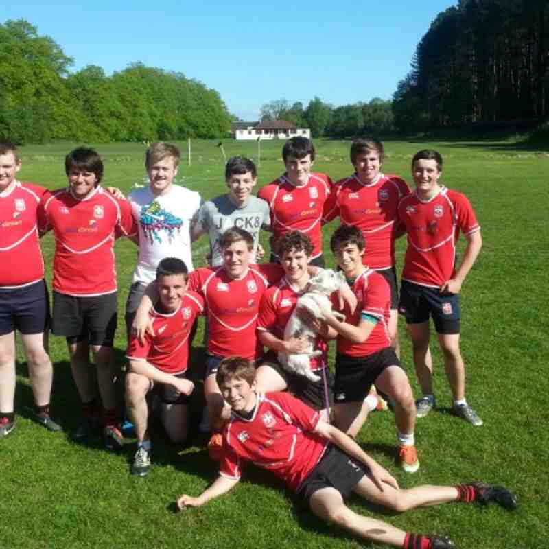 U16 Cougars at Glasgow City 7s at Cartha Saturday 25th May 2013