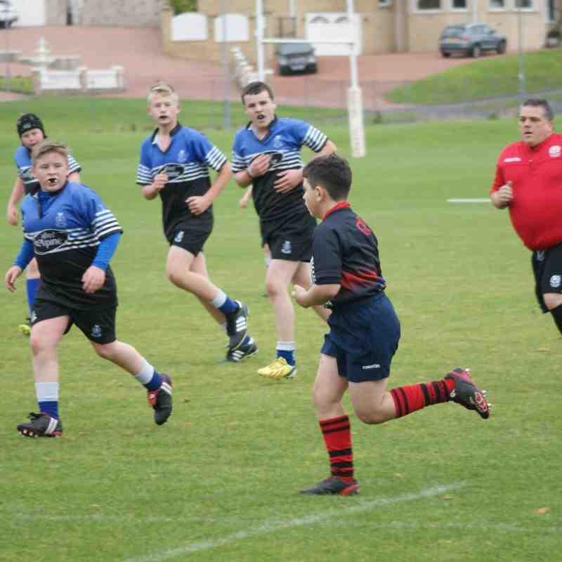 Dalziel s1 v Cumnock s1 by George Graham