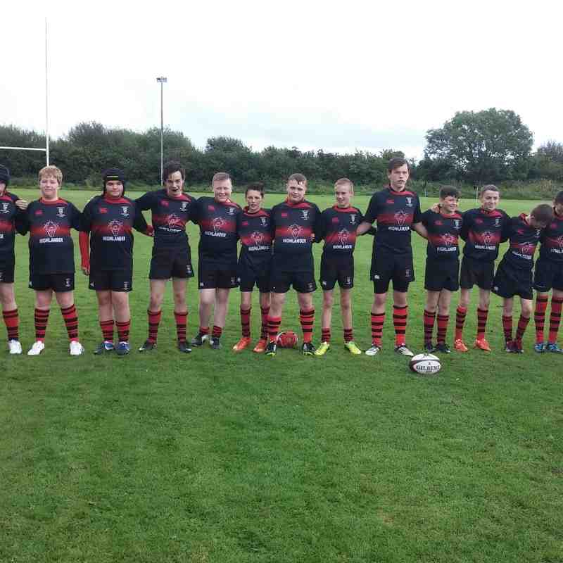 Cumnock U15 Photos 2015/16