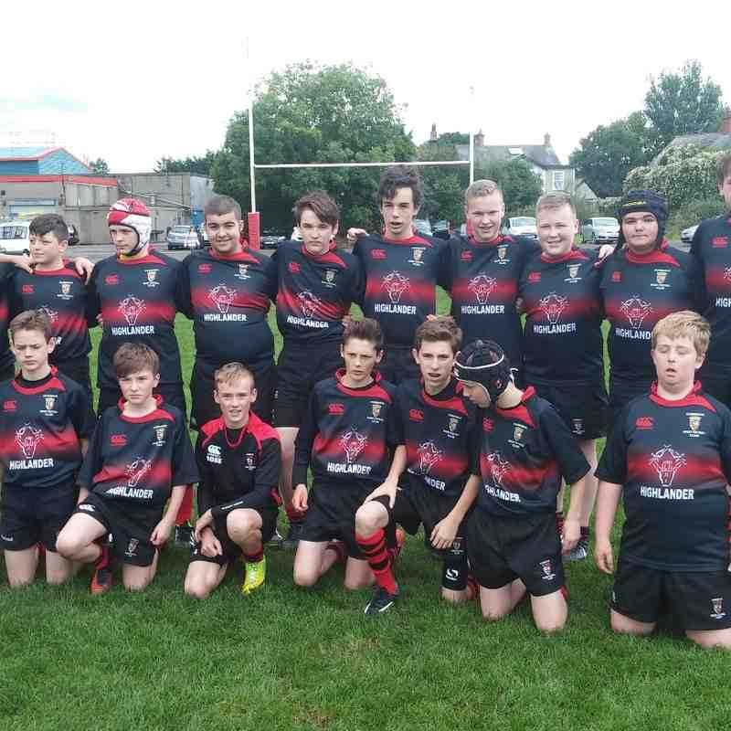Cumnock U15 Photos 2015/16