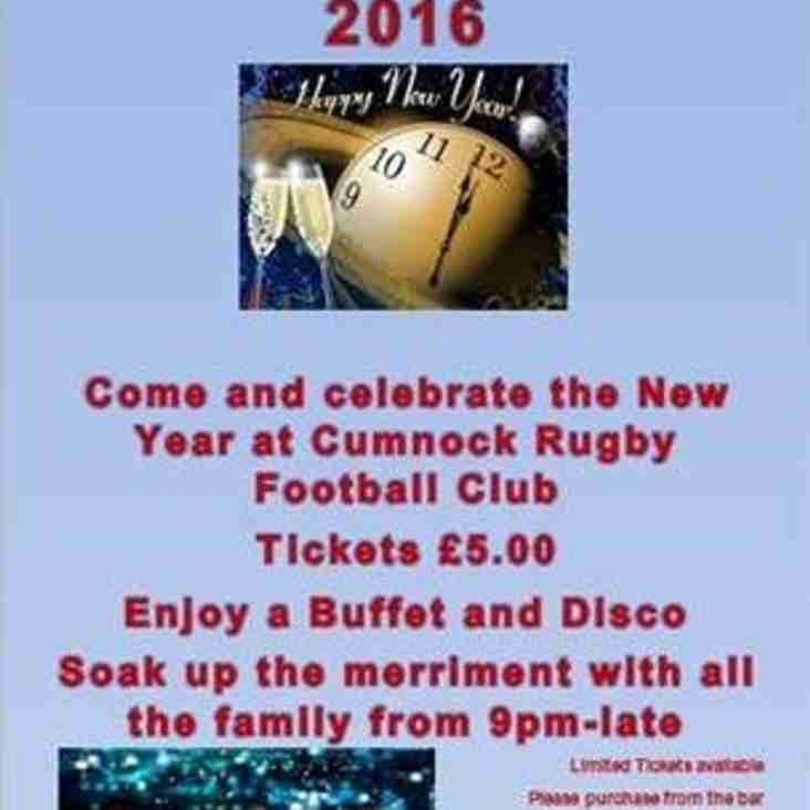Whats happening in Cumnock Rugby Club in December