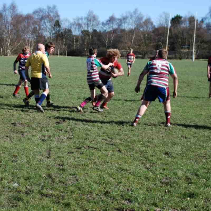 Moortown V's Barnsley Under 15's 11th March 2012