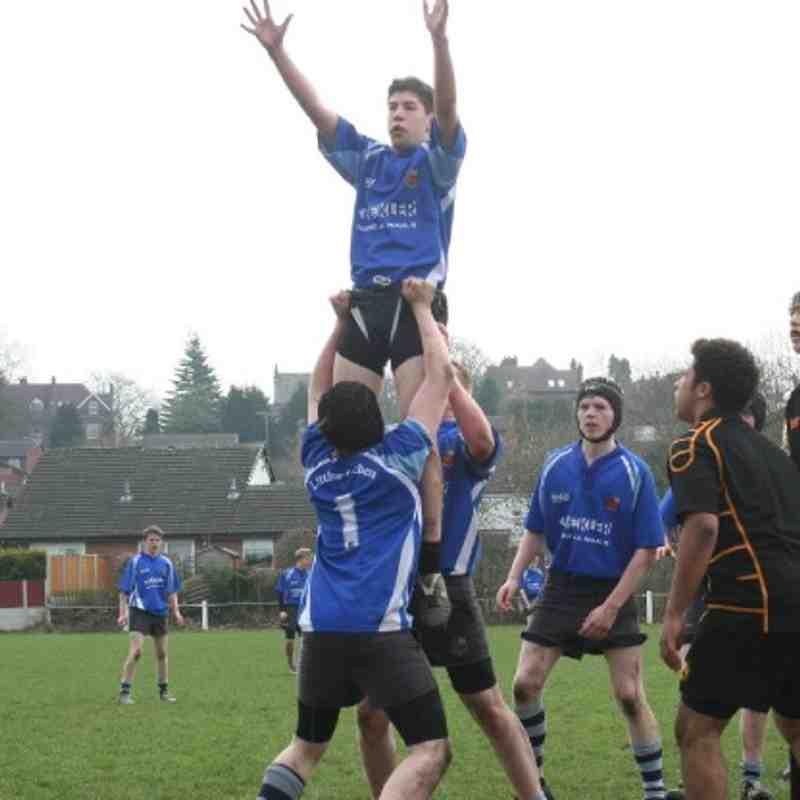 Northwich v U16s 27 March 2011