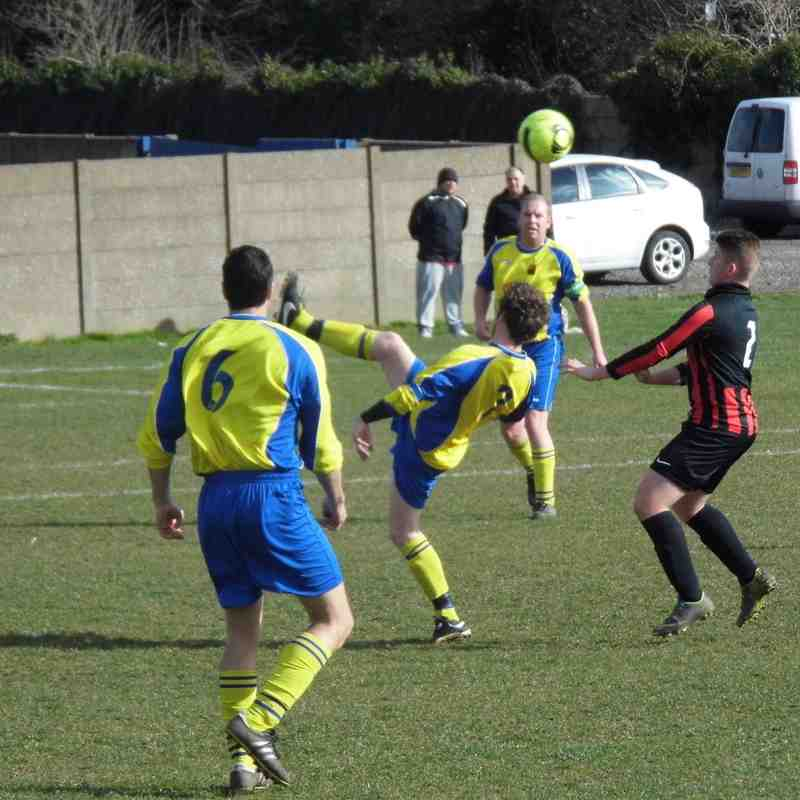 1st Team v Maltby Main Reserves - 28th March 2015