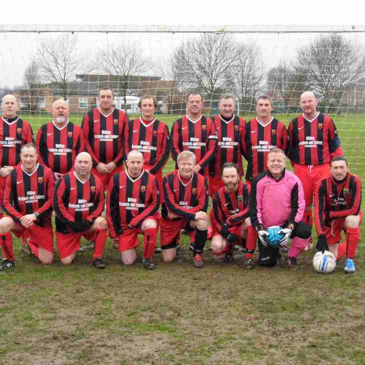 Cup Final awaits On Tuesday For Over 45s