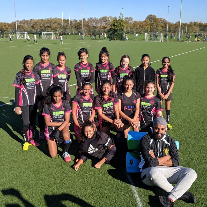 South Berkshire U16 Girls 1 - 1 Slough Girls U16