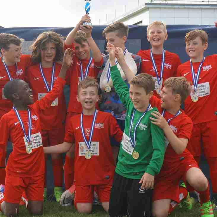 U11s Cup Winners of the Ashridge Park FC 2017 Tournament