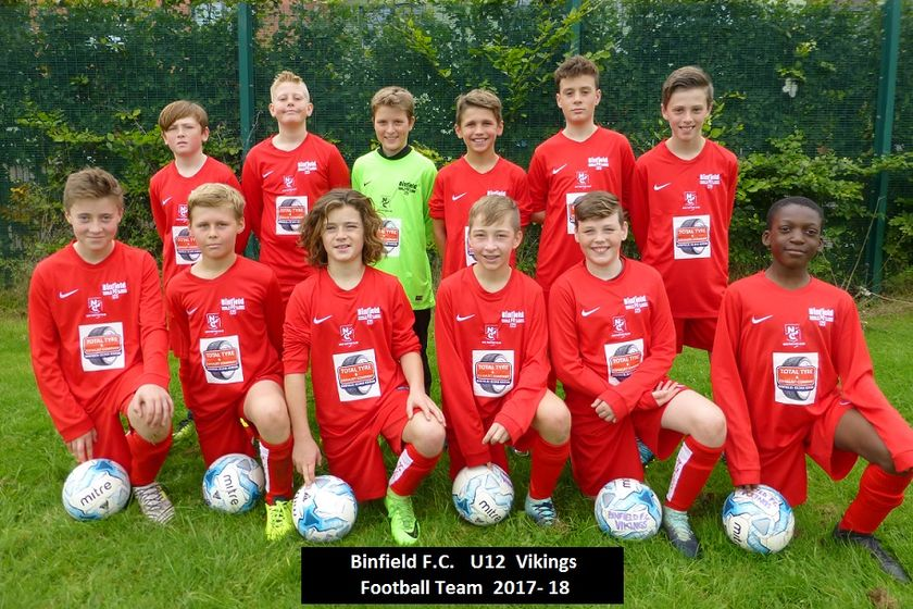 U12 Binfield Vikings lose to Maidenhead Magpies 1 - 2