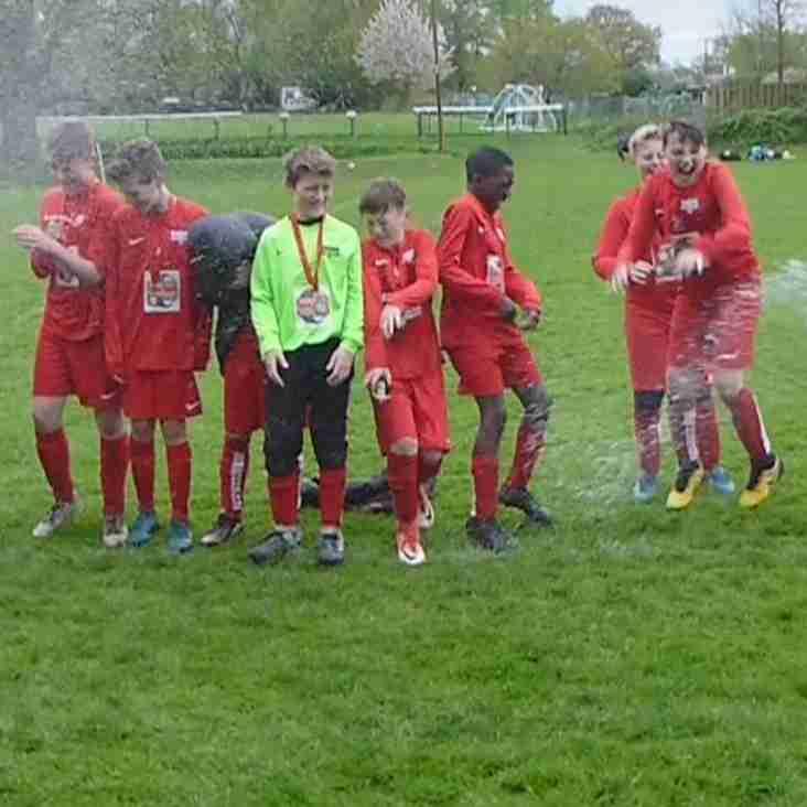 Binfield Vikings U12's crowned Division 2 Champions