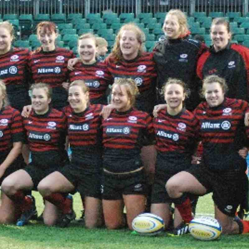 Saracens Ladies vs Worcester Ladies