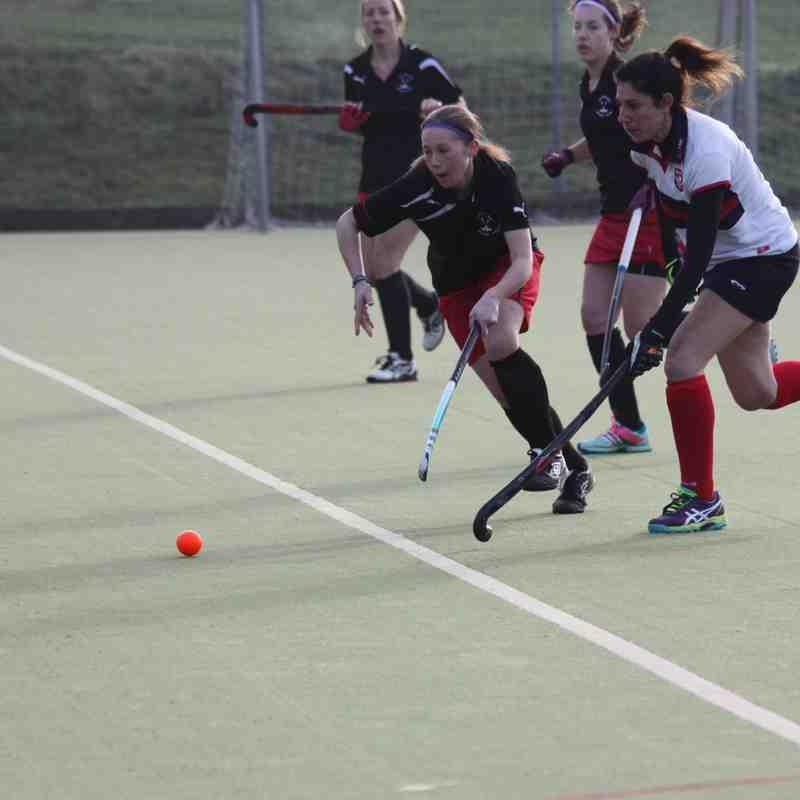 Ladies 2nd Team v Berhamstead & Hemel 2 - 23rd January 2016