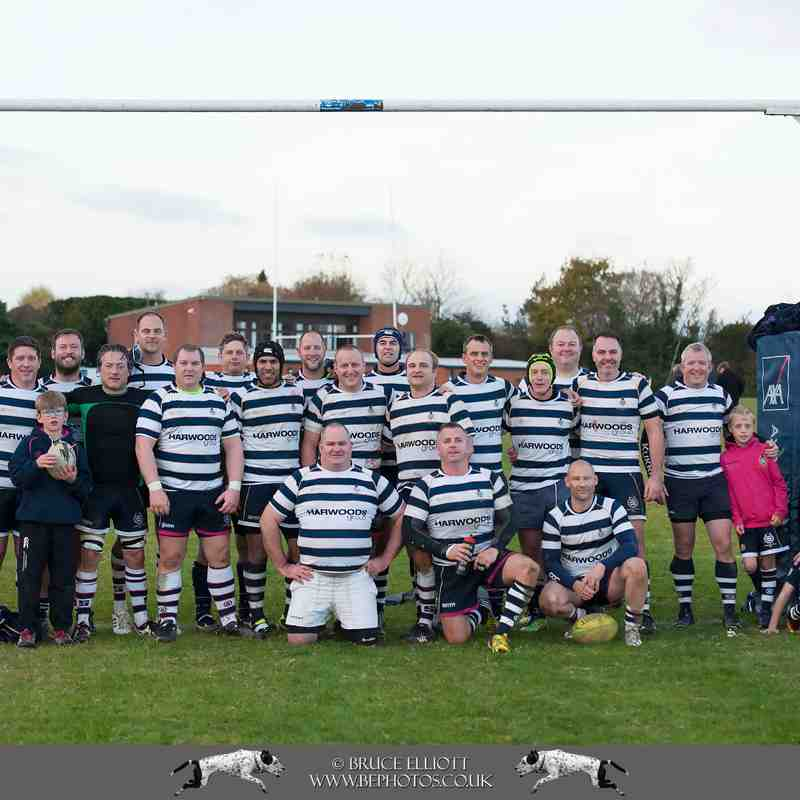 TWRFC Vets - Maidstone, Cranbrook - 13th November 2016
