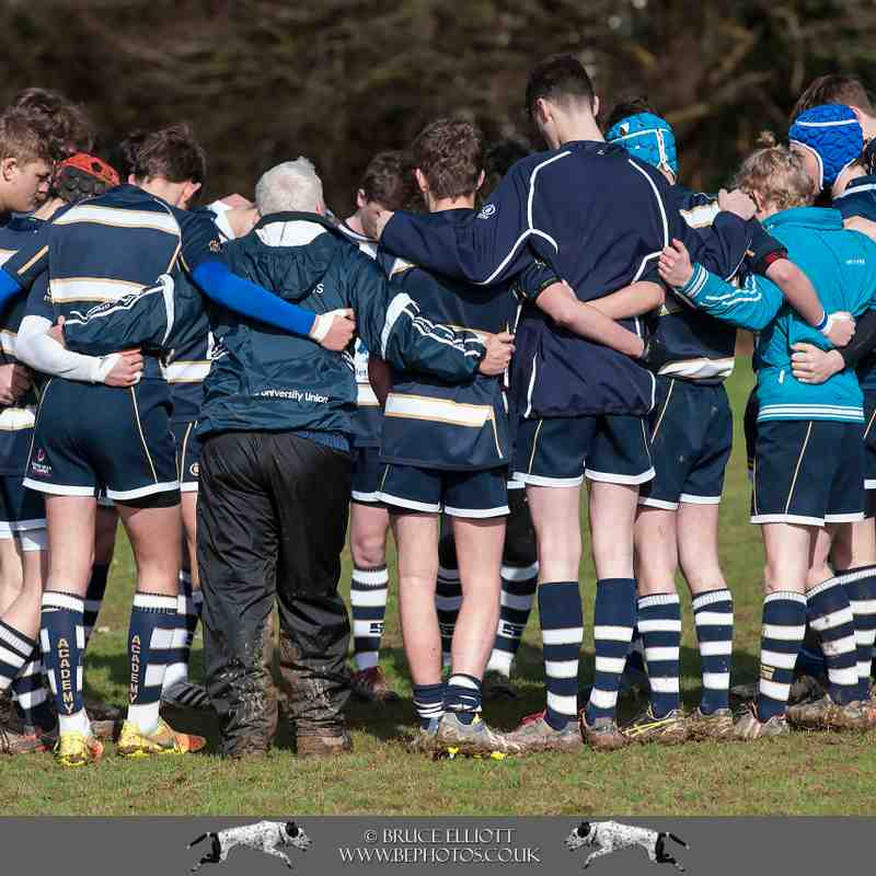 TWRFC - U16s - Medway - 5th March 2017