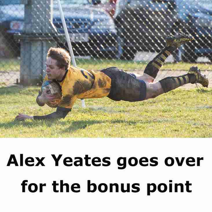 Firsts Get Bonus-Point Win in the Mud
