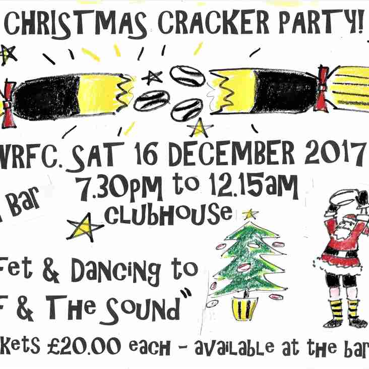 WRFC CHRISTMAS CRACKER PARTY