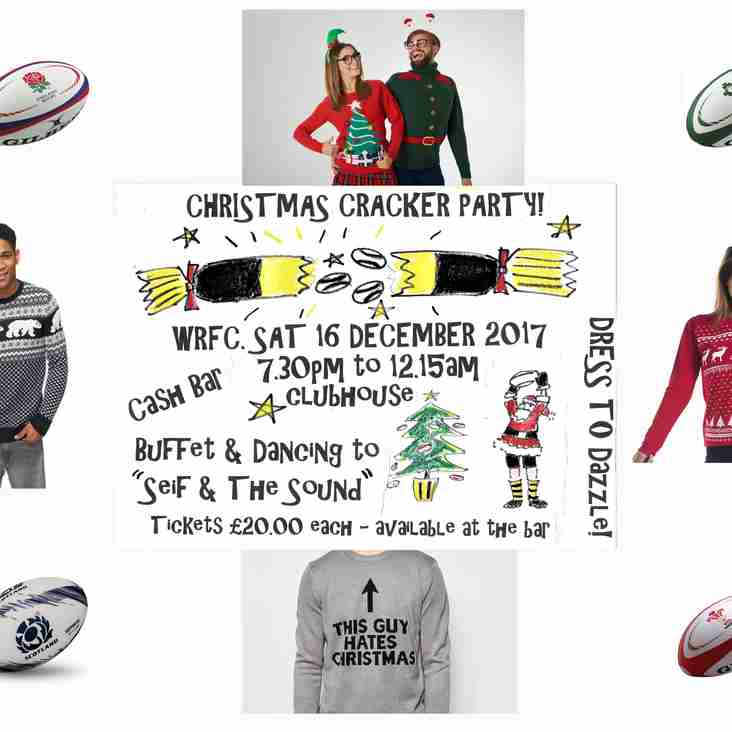 Get into the Christmas Spirit at WRFC