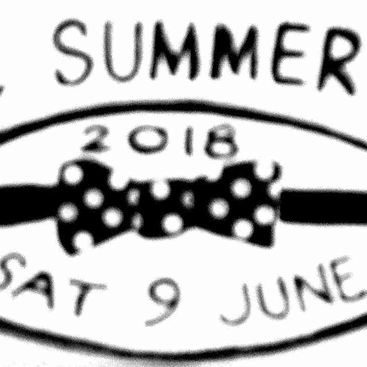 The 2018 WRFC Ball Will Take Place on Saturday 9th June