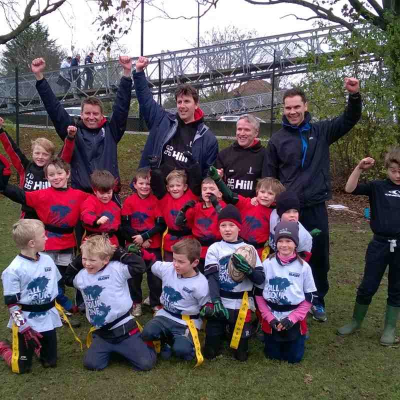 U7's - Twickenham - London Festival of Rugby