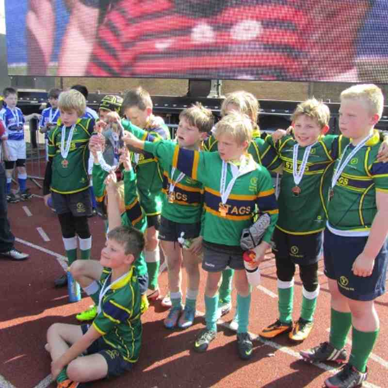 Under 9s (Green squad) win the ADVW Cup at Allianz Park