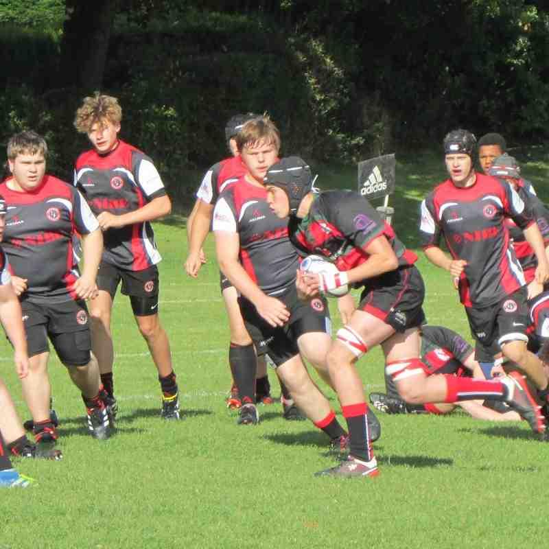 U16's vs Chesterfield 09/10/16