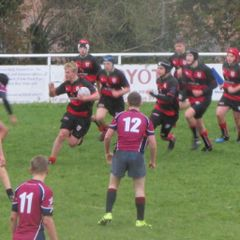 Southwell vs U15's - ghostbusters, beer pumps and a rainy cold day of rugby