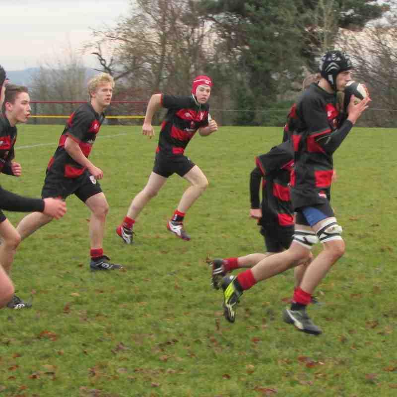 Taming the Tigers (U16's) 18.12.16
