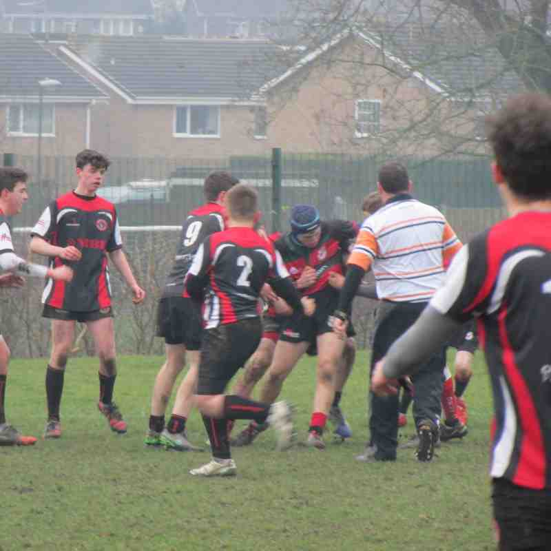 U15's vs Chesterfield Panthers - made to look like pussy cats!