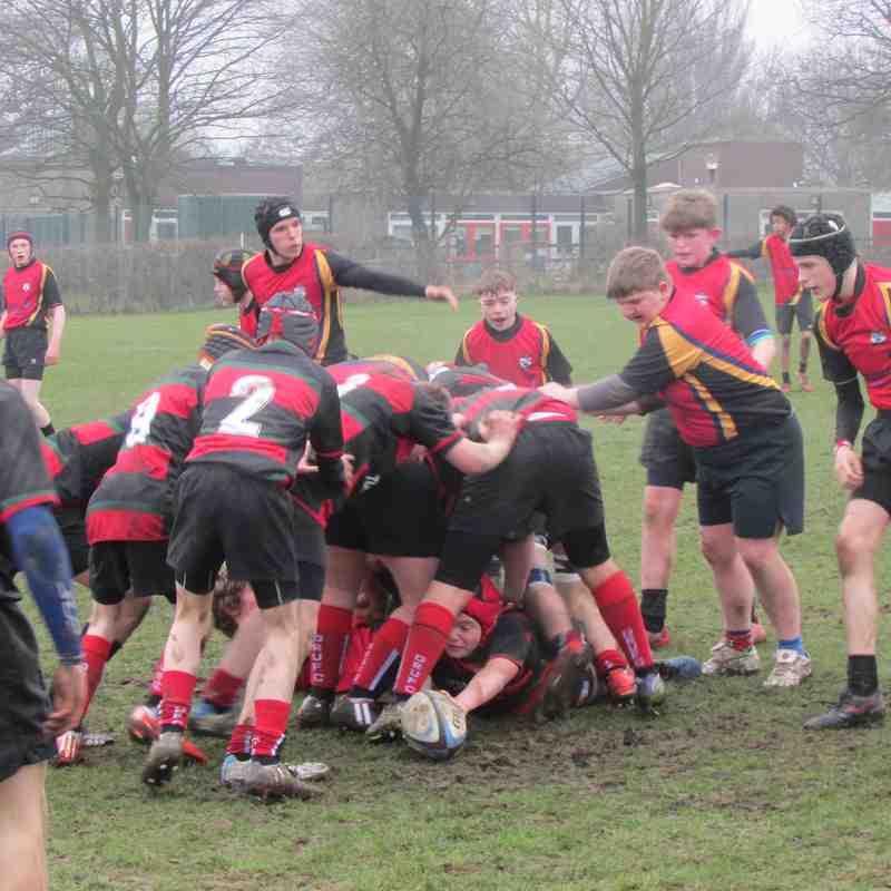 """U15's vs Ashfield - made the """"Redmen"""" blush - what a win!"""
