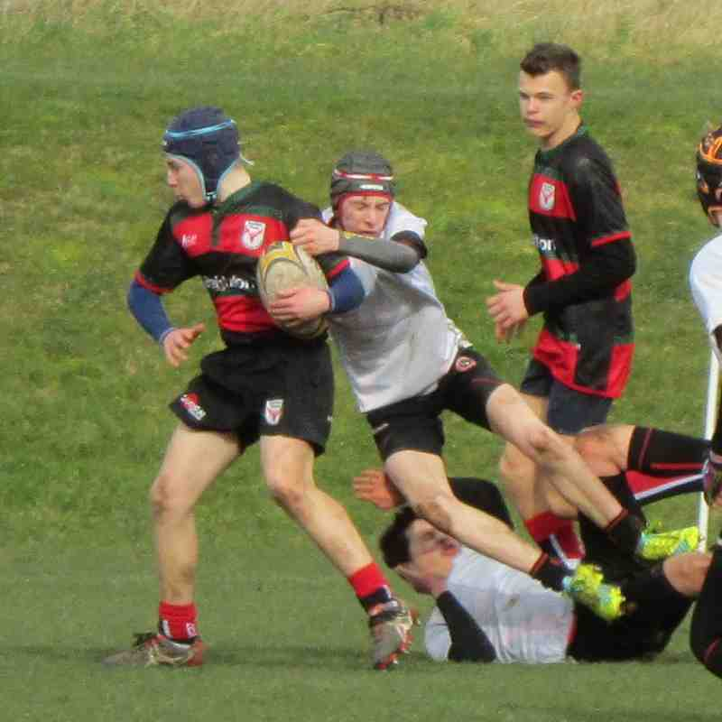 Double measures at Panthers - U15's do the double over Chesterfield Panthers 26.02.17
