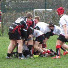 U15's vs Mosborough 12th March White wizards!
