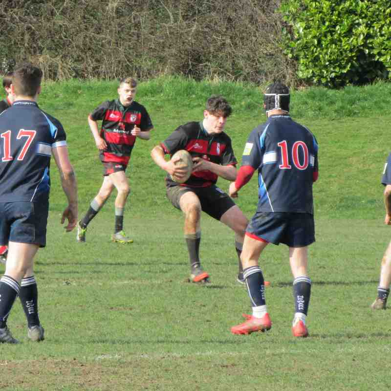 U16's vs Newark 12th March