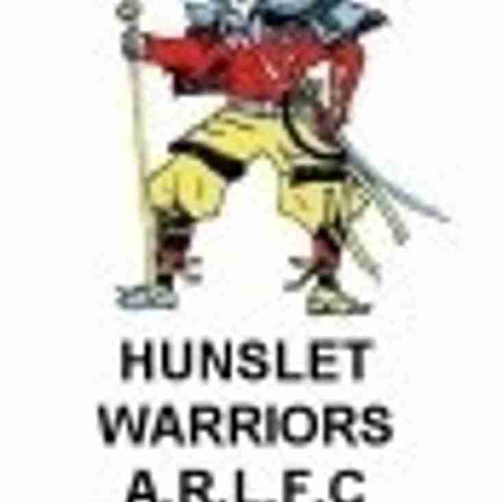 Kippax Welfare 26 - 12 Hunslet Warriors