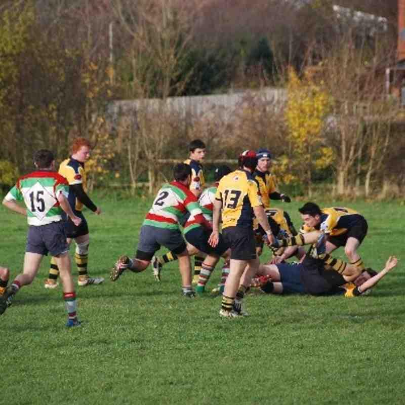 Under 16's v Ilford