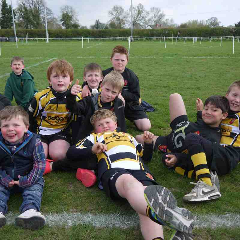 DRFC U8's at Luctonians