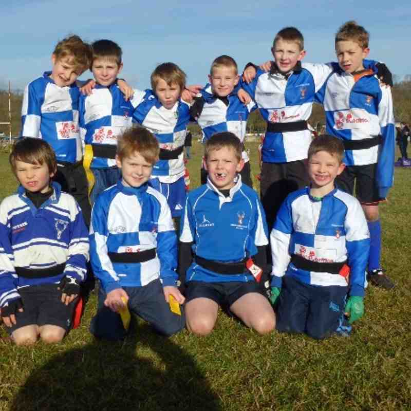 North Ribb Under 8s - November 2012 against Wensleydale