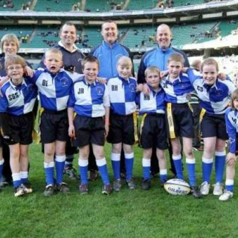 North Ribblesdale Juniors play at Twickenham (Curtain Raiser for England vs Wales)
