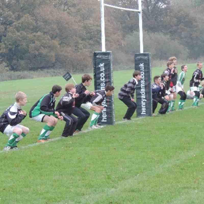 Horsham U14s v Pulborough - 17th November 2013