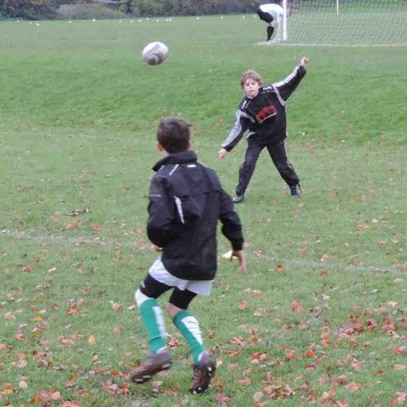Horsham U14s v Effingham & Leatherhead - 24th November 2013