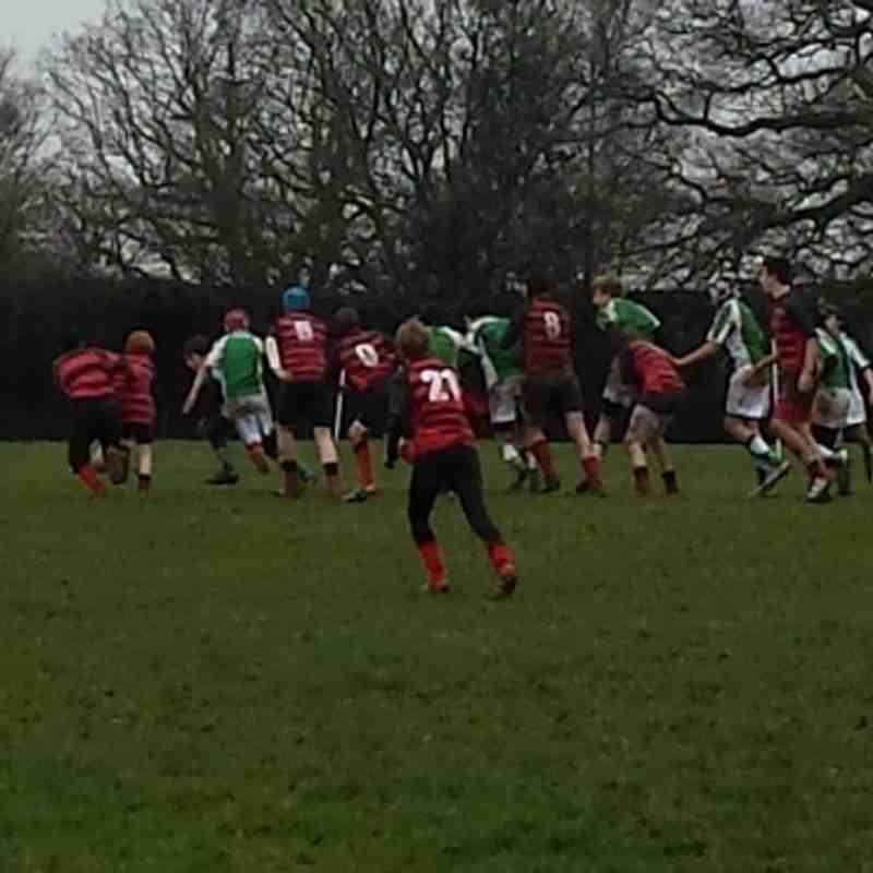 Horsham U14s v Haywards Heath - 12th January 2014