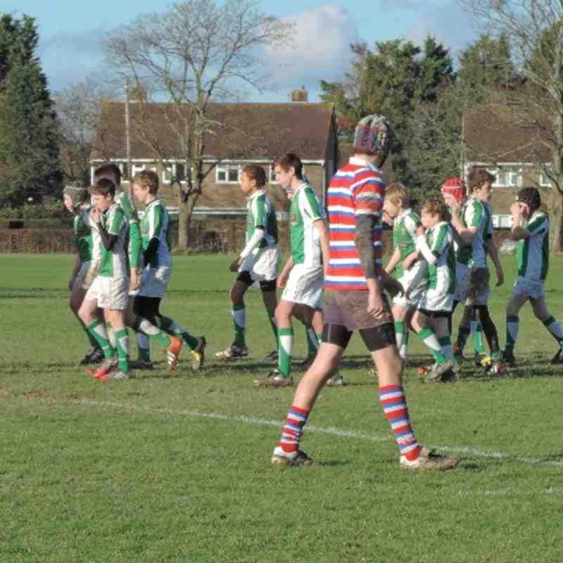 Horsham U14s v Tonbridge - 19th January 2014