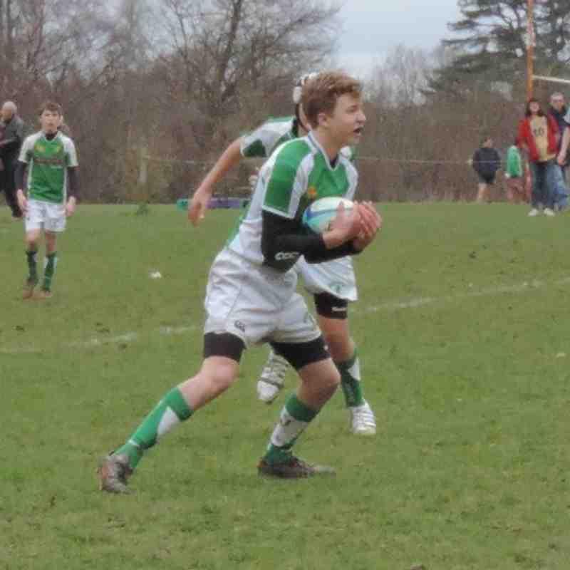 Horsham U14s v Brighton - 2nd March 2014