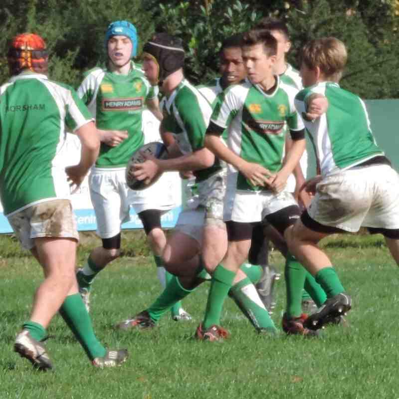 Bracknell U15 v Horsham U15 - 19th October 2014