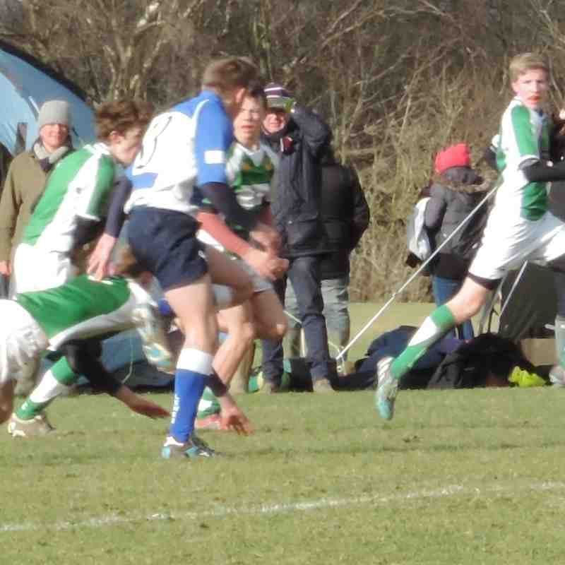 Horsham U15 v Lewes U15 - 1st February 2015