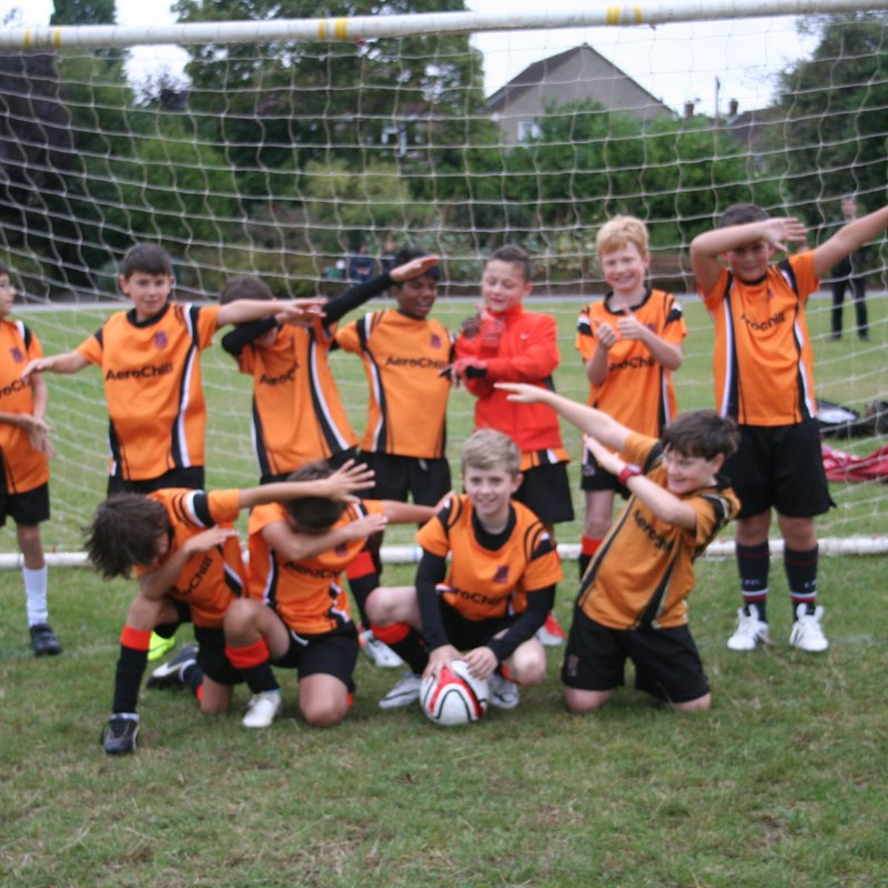 Hearts FC Tigers Under 11's beat Whitegrove Tigers 1 - 3