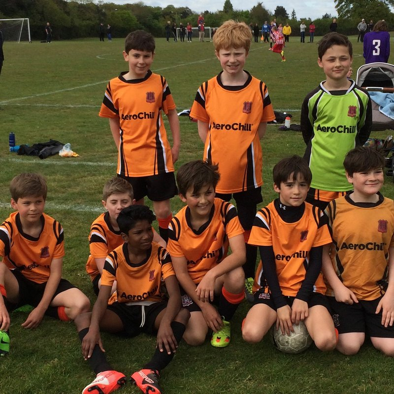 U11 Tigers Bounce Goes Against Them