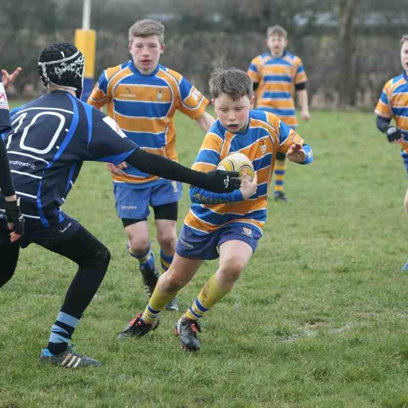 U13s Old Leamingtonians V Rugby St Andrews
